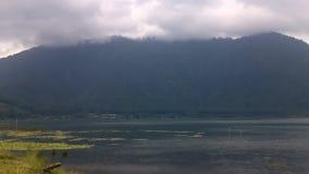 Λίμνη Bratan, Μπαλί - Ινδονησία απόθεμα βίντεο