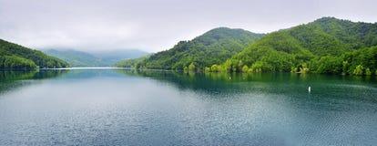 Λίμνη Brugneto Στοκ Εικόνες