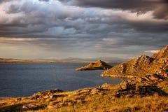 Λίμνη Bukhtarma στο Καζακστάν Στοκ εικόνες με δικαίωμα ελεύθερης χρήσης