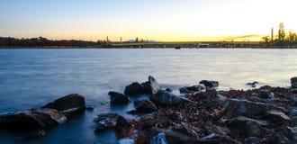 Λίμνη Burley Griffin στοκ εικόνες