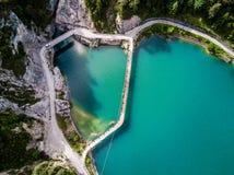 Λίμνη Cadore στοκ φωτογραφία