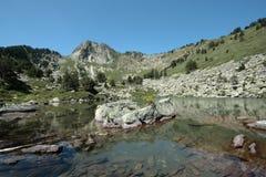 Λίμνη Camisette στα Πυρηναία Στοκ εικόνες με δικαίωμα ελεύθερης χρήσης