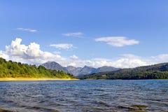 Λίμνη Campotosto Στοκ Εικόνες