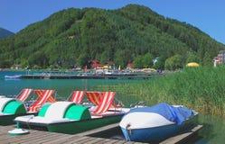 λίμνη carinthia της Αυστρίας klopein Στοκ εικόνα με δικαίωμα ελεύθερης χρήσης