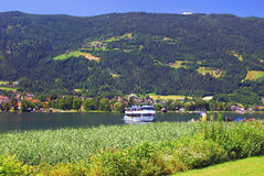 λίμνη carinthia ossiach Στοκ Εικόνες