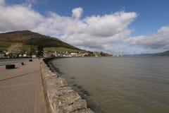 Λίμνη Carlingford, κοβάλτιο Louth, Ιρλανδία Στοκ φωτογραφίες με δικαίωμα ελεύθερης χρήσης
