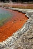 Λίμνη CHAMPAGNE Rotorua Στοκ Φωτογραφία