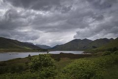 Λίμνη Cluaine στοκ φωτογραφία