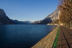 Λίμνη Como το χειμώνα στοκ φωτογραφία με δικαίωμα ελεύθερης χρήσης