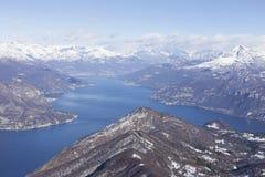 Λίμνη Como στοκ εικόνες