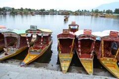 Λίμνη DAL - Ινδία Στοκ φωτογραφία με δικαίωμα ελεύθερης χρήσης