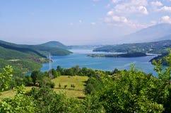 Λίμνη Debarsko σε Maceodonia στοκ εικόνα με δικαίωμα ελεύθερης χρήσης