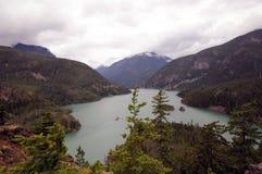 Λίμνη Diablo, Ουάσιγκτον στοκ φωτογραφίες με δικαίωμα ελεύθερης χρήσης