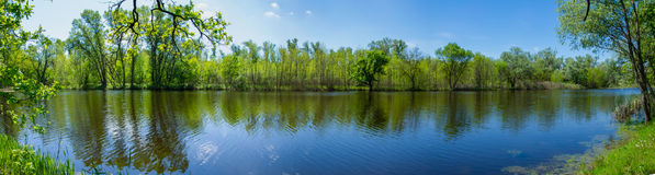 Λίμνη Dubovoe Στοκ φωτογραφίες με δικαίωμα ελεύθερης χρήσης