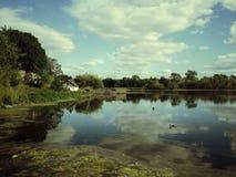 Λίμνη Duddingston Στοκ εικόνες με δικαίωμα ελεύθερης χρήσης