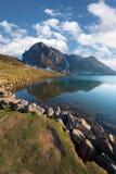 λίμνη enol Στοκ Φωτογραφίες