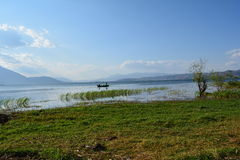 Λίμνη Erhai Στοκ φωτογραφία με δικαίωμα ελεύθερης χρήσης