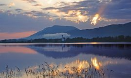 λίμνη forggensee της Βαυαρίας Στοκ φωτογραφία με δικαίωμα ελεύθερης χρήσης