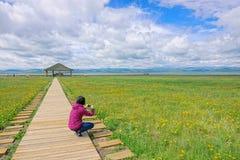 Λίμνη Gahai στοκ εικόνες με δικαίωμα ελεύθερης χρήσης