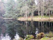 Λίμνη Galloway στο πάρκο, Σκωτία στοκ φωτογραφίες
