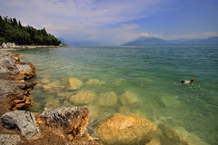 Λίμνη Garda Στοκ φωτογραφία με δικαίωμα ελεύθερης χρήσης