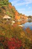 λίμνη gazebo μούρων mohonk Στοκ Εικόνα