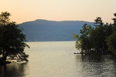 λίμνη George Στοκ εικόνα με δικαίωμα ελεύθερης χρήσης