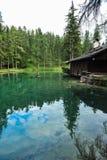 Λίμνη Ghedina Στοκ Φωτογραφία
