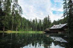 Λίμνη Ghedina Στοκ φωτογραφία με δικαίωμα ελεύθερης χρήσης
