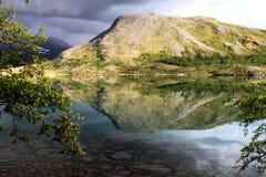 Λίμνη Gjende Στοκ εικόνες με δικαίωμα ελεύθερης χρήσης