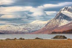 Λίμνη Gjevillvatnet, Νορβηγία στοκ εικόνες με δικαίωμα ελεύθερης χρήσης