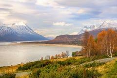 Λίμνη Gjevillvatnet, Νορβηγία στοκ εικόνες
