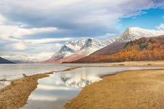 Λίμνη Gjevillvatnet, Νορβηγία στοκ φωτογραφία με δικαίωμα ελεύθερης χρήσης