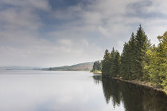 Λίμνη Glashan στη δύση Argyll, Σκωτία Στοκ Φωτογραφία