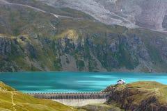 Λίμνη Goillet - κοιλάδα Aosta - Ιταλία Στοκ φωτογραφία με δικαίωμα ελεύθερης χρήσης