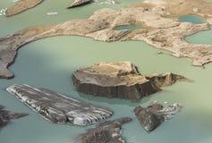 Λίμνη Grossglockner παγετώνων στην Αυστρία στοκ εικόνα