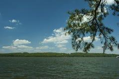 Λίμνη Guntersville, Al Στοκ Φωτογραφίες
