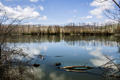 Λίμνη Gurrida Στοκ φωτογραφία με δικαίωμα ελεύθερης χρήσης