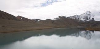 Λίμνη Gurudongmar Στοκ εικόνες με δικαίωμα ελεύθερης χρήσης
