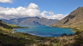 Λίμνη Hawea στοκ εικόνες με δικαίωμα ελεύθερης χρήσης