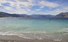Λίμνη Hawea Στοκ Εικόνες