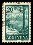 Λίμνη Huapi Nahuel, βόρεια Παταγωνία στην Αργεντινή Στοκ φωτογραφία με δικαίωμα ελεύθερης χρήσης