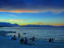 Λίμνη Huapi Nahuel στοκ φωτογραφίες με δικαίωμα ελεύθερης χρήσης