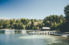 Λίμνη Huapi Nahuel στοκ εικόνα με δικαίωμα ελεύθερης χρήσης