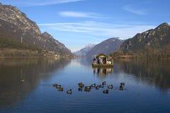 Λίμνη Idro Στοκ εικόνα με δικαίωμα ελεύθερης χρήσης