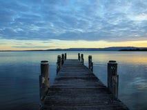 λίμνη illawarra warf Στοκ Εικόνες