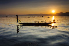 Λίμνη Inle, το Μιανμάρ. Στοκ φωτογραφία με δικαίωμα ελεύθερης χρήσης