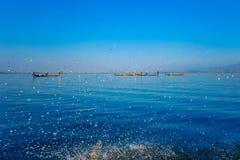 Λίμνη Inle Στοκ Εικόνες
