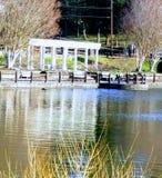 Λίμνη Junaluska την άνοιξη Στοκ εικόνες με δικαίωμα ελεύθερης χρήσης