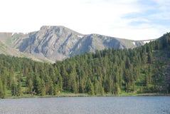 λίμνη karakol Στοκ εικόνες με δικαίωμα ελεύθερης χρήσης